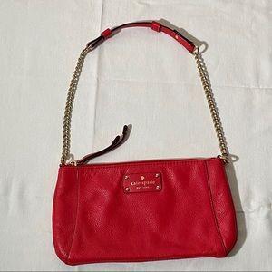 Kate Spade Wellesley Byrd Coral Mini Shoulder Bag